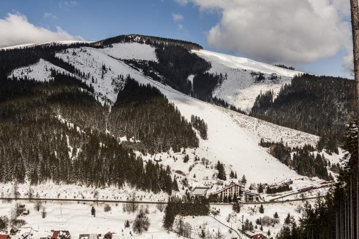 Živá kamera Ski centrum Bačova Roveň